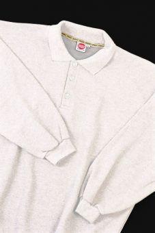 Polo Sweatshirt blanc
