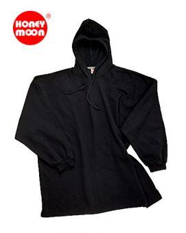 Sweat-Shirt à capuche SANS lisière noir
