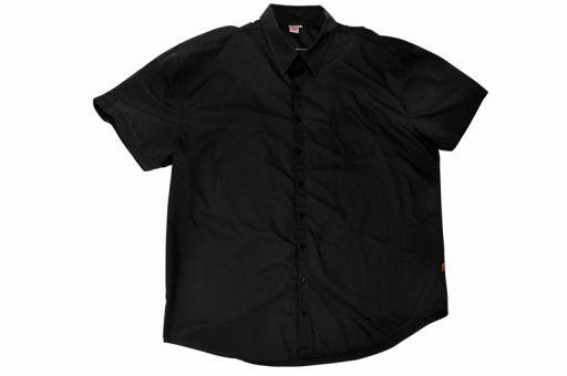 Chemise manches courtes en noire