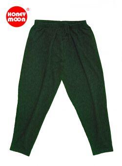 Pantalon de Jogging vert-foncé melange