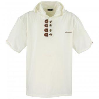 Lavecchia  T-shirt à capuche Blanc crème