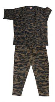 Ensemble Jogging Camouflage