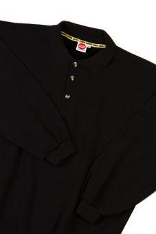 Polo Sweatshirt noir