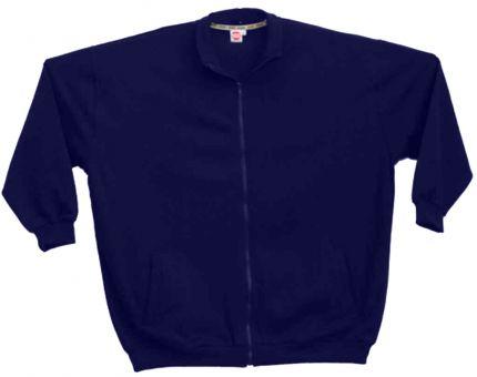 Sweat-Blouson bleu-navy