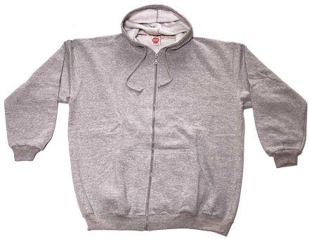 Veste-Sweat à capuche gris