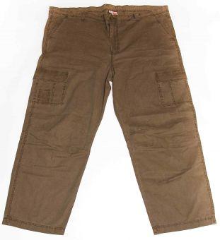 Pantalon style cargo oliv