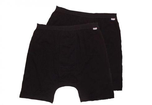 Boxerpant noir pack double