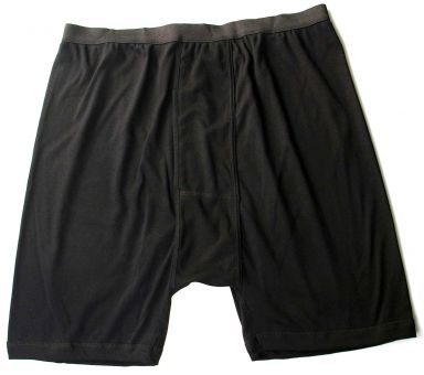 Boxerpant noir coton/Lycra
